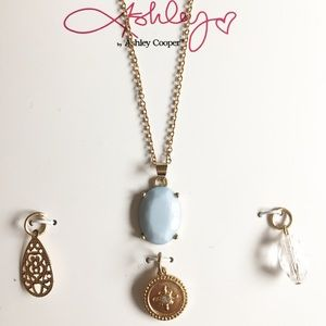 Ashley Cooper Pendant Necklace Set